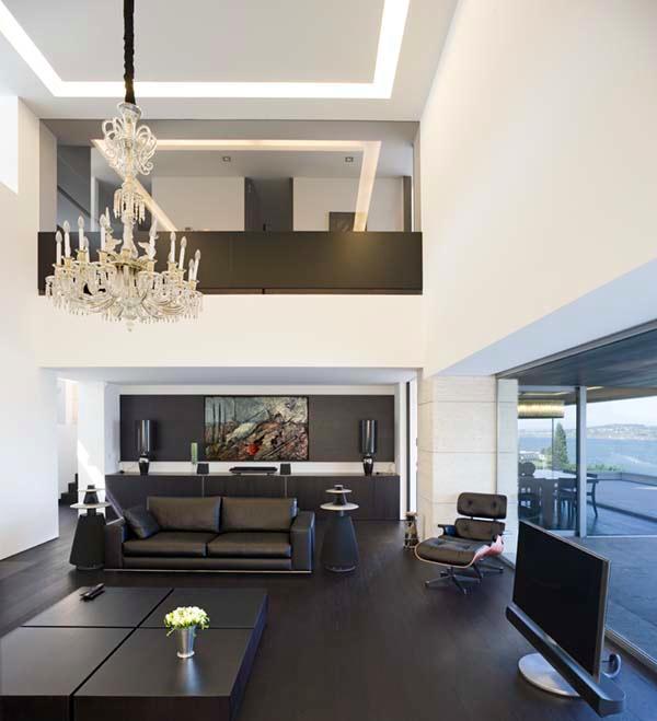 Futuristic and Bright Home Design Inspiration from A ceros Galicia mainroom