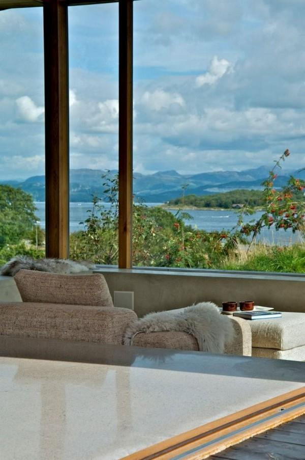Futuristic and Cozy Home Design with amazing view