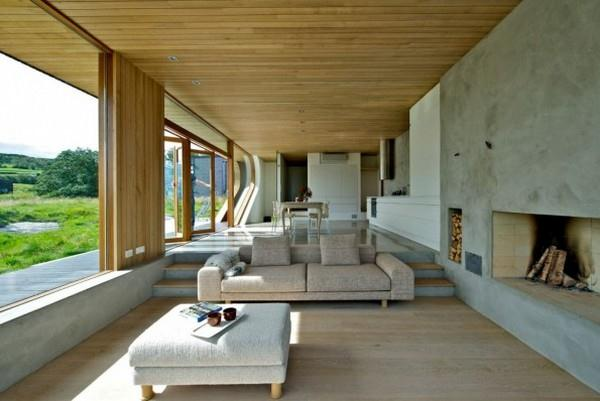 Futuristic and Cozy Home interior Design by Tommie Wilhelmsen