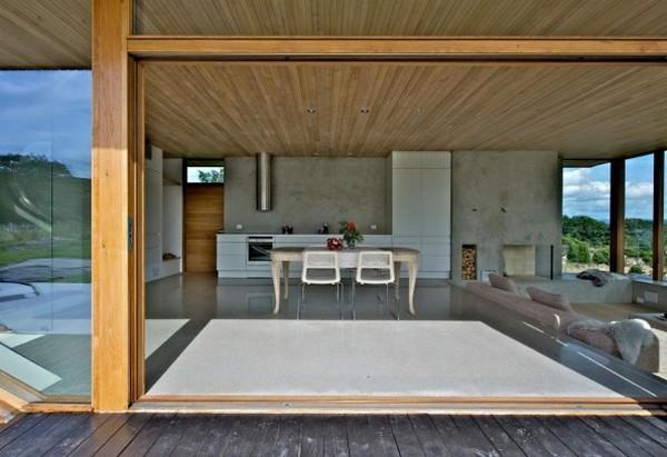 Futuristic and Elegant Dalene Cabin Home Design by Tommie Wilhelmsen