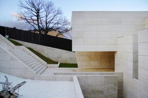 Futuristic and simply Home Design Inspiration from A ceros Galicia