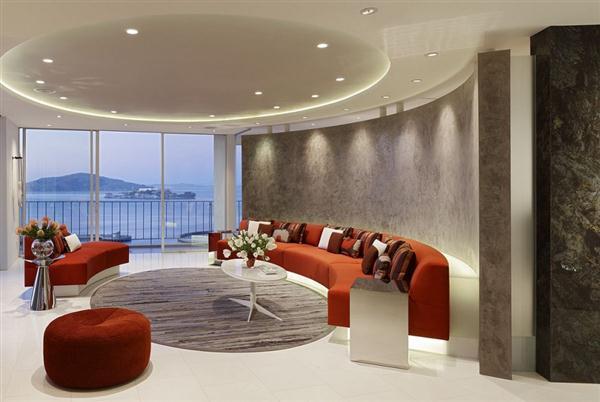 Luxurious apartment interior Design Ideas
