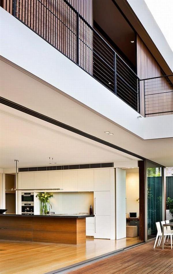 Natural kitchen Design ideas by Corben Architects