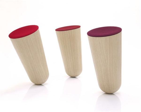 Out of Balace Chair with cool concept by Thorsten Franck