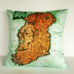 amazing Map Pillows by Bearded Pigeon