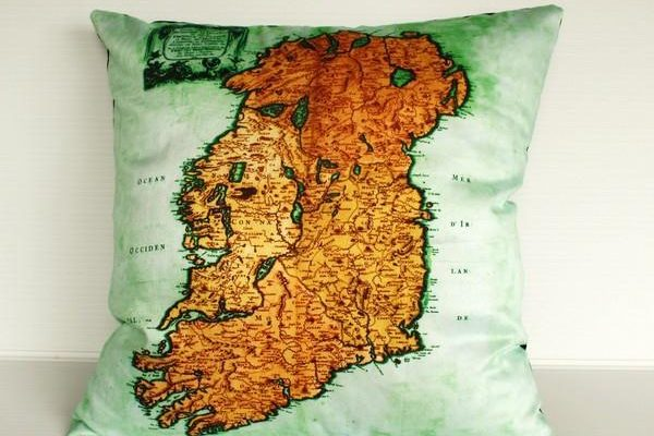 Unique Map Pillows Design by Bearded Pigeon