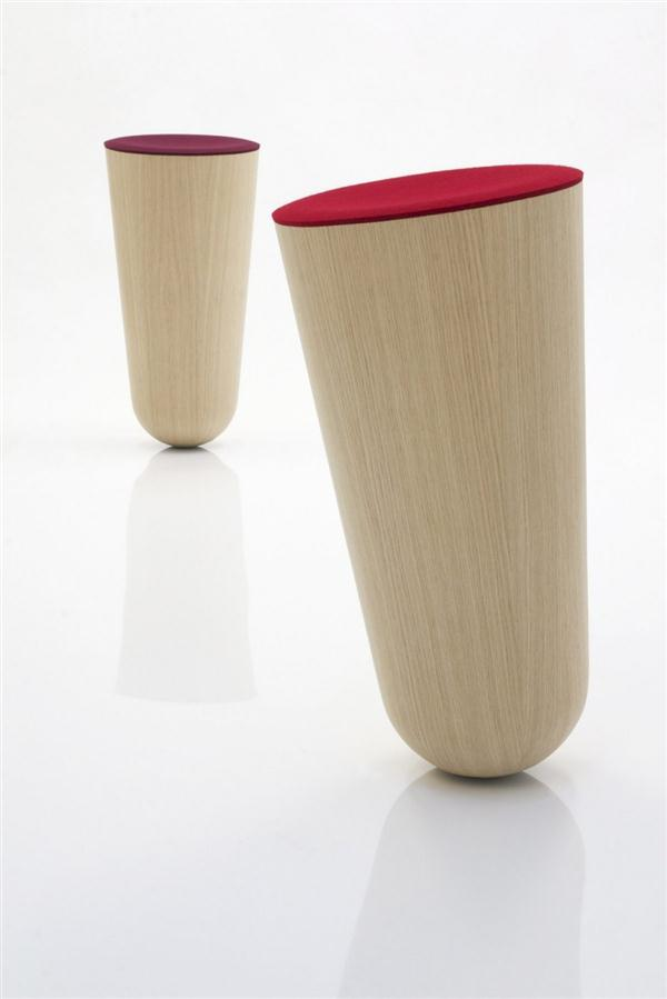 awesome Out of Balace stools design by Thorsten Franck