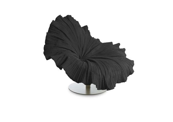 black Blossom Flower Chair with awesome and cute design
