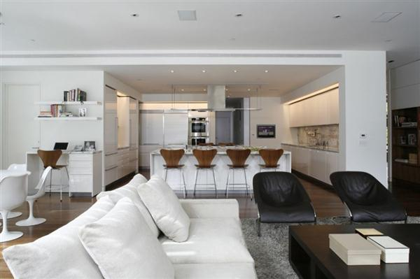contemporary Home interior Design in Los Angeles California