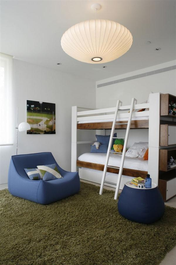 cute kidsbedroom design by belzberg architects