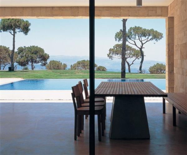 dinning table Mediterranean Home Design