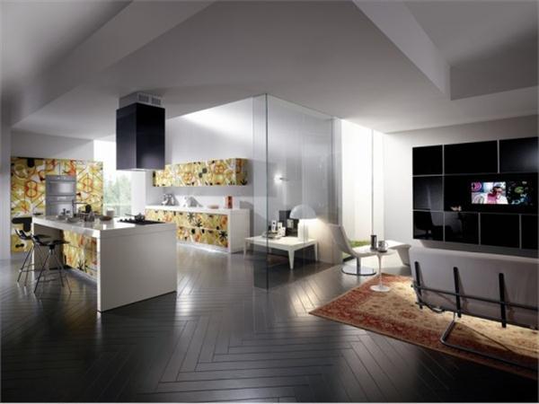 futuristic Kitchen Design Ideas by Scavolini