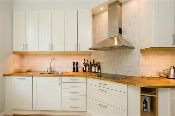 kitchen Apartment Design with minimalist concept