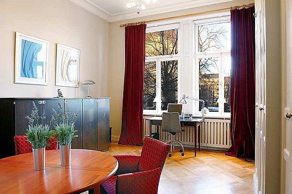 luxurious Apartment interior Design with Classical Swedish Style in Stockholm
