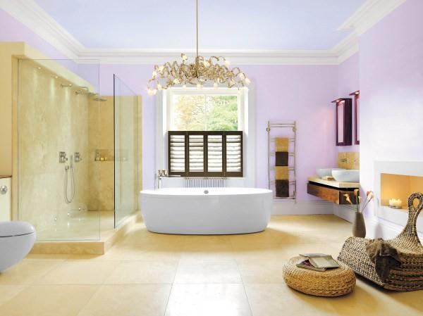 luxurious Elegant and Modern Showers Bathroom Decor Appliance