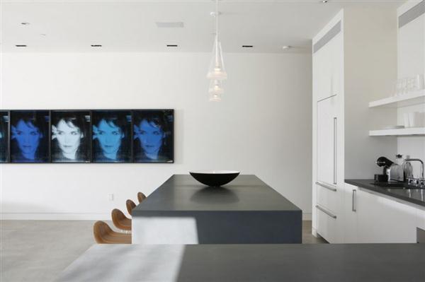 modern kitchen design on Elegance Home Design in California