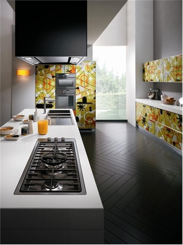 unique and Cute Kitchen Design Ideas by Scavolini