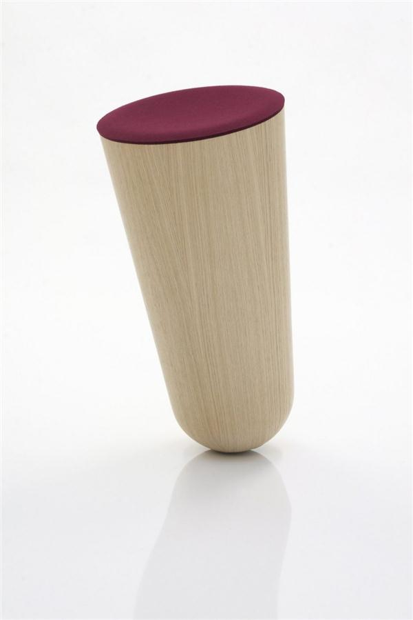 unique chair design ideas Out of Balace stool by Thorsten Franck