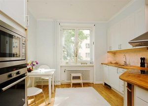 unique kitchen Apartment Design in Sweden