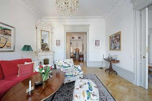 wonderful Apartment interior Design with Classical Swedish Style in Sweden