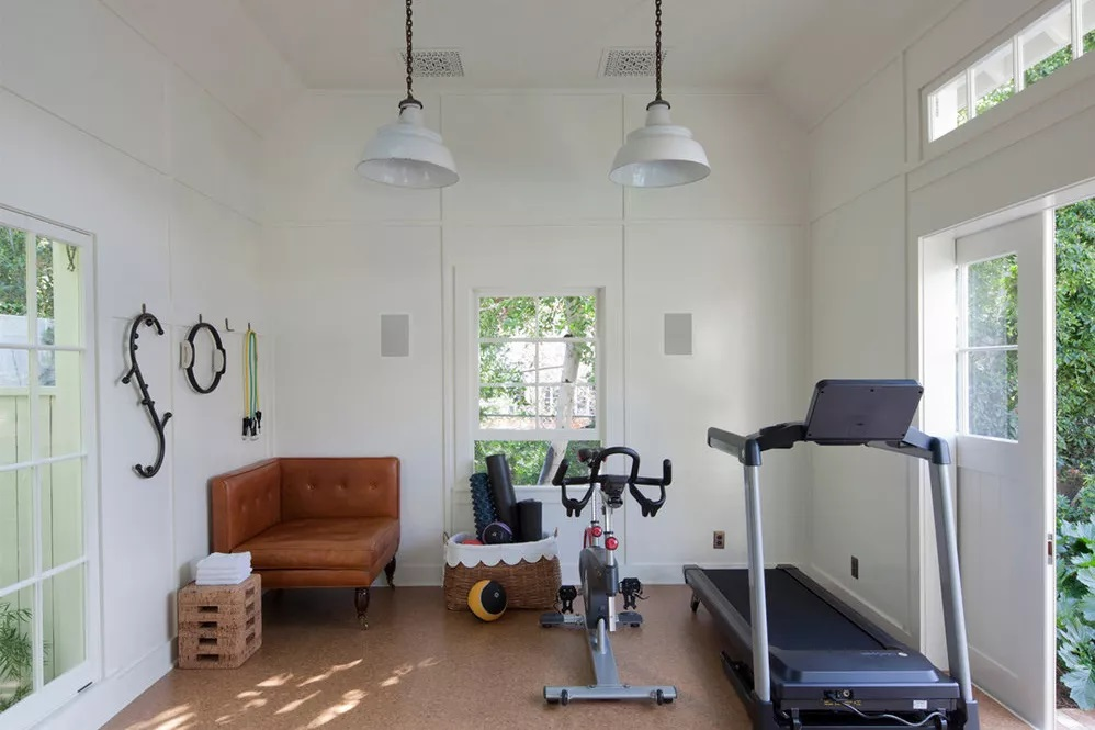 Classic Colorful home gym
